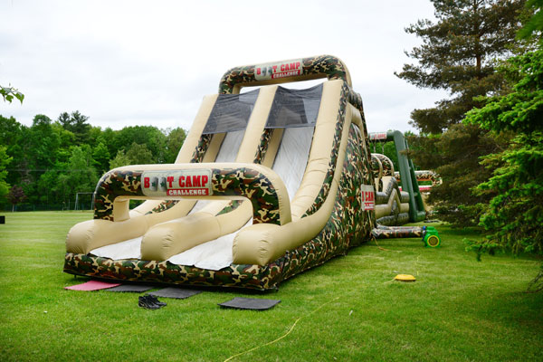 Inflatable Slide and Obstacle