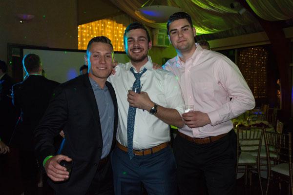 Fraternity Brothers Enjoy Anniversary Celebration